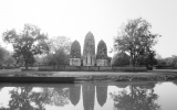 Ayutthaya Temples and Reflection