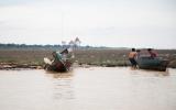Fishermen at Cambodia