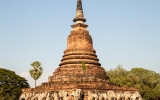 Sukhothai Elephants Temple