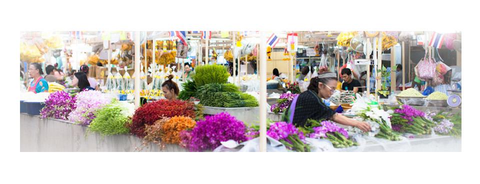 Bangkok Photography Tours, Flower Market
